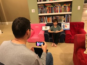 book-look-recording-scene