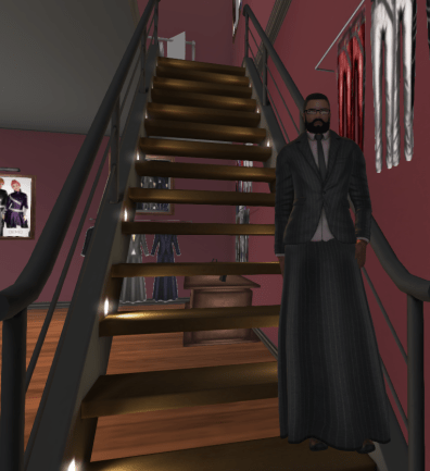 Ethan in A:S:S Mason Suit on Stairs