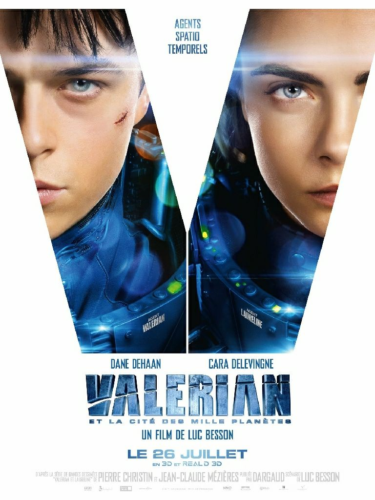 Valérian Et La Cité Des Mille Planètes : valérian, cité, mille, planètes, Valerian, Cité, Mille, Planètes, Movie, Blu-ray/DVD/Digital, (Spain)