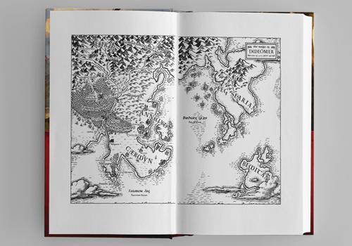 Fantasy Map, Cartography, Book Design