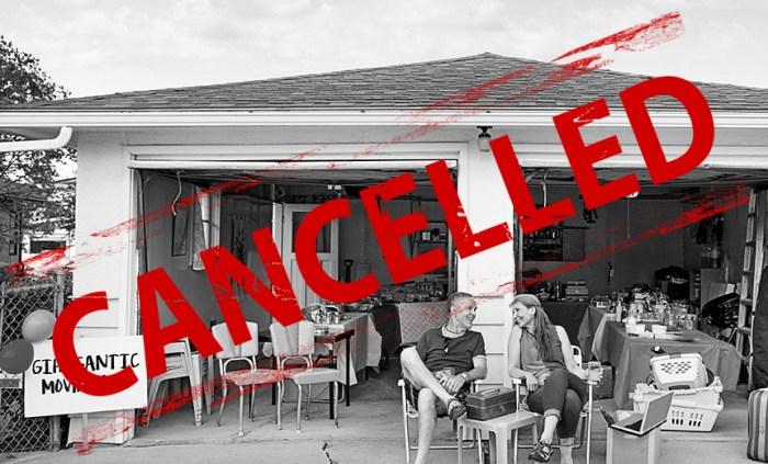 2020 Garage Sale Cancelled