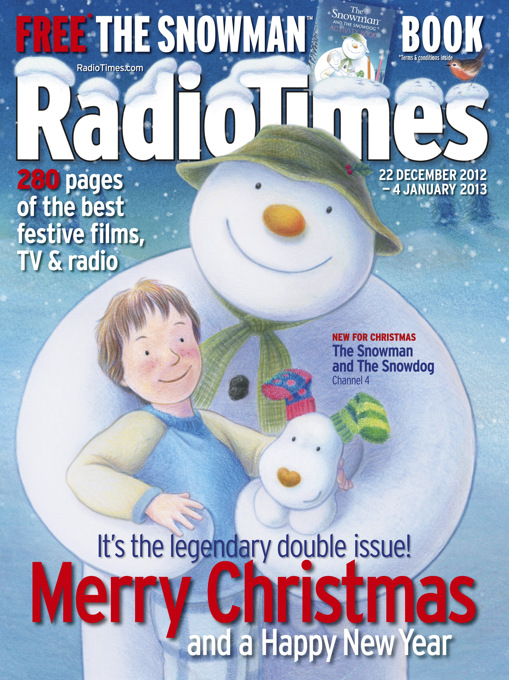 Raymond Briggs All Over The Christmas Tv Schedule