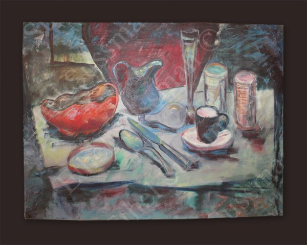 Table Oil Painting