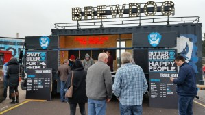 The Truck Norris BrewDog bar - which would be awesome to hire for your own party