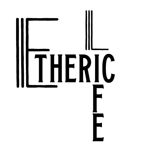 Smaller etheric life logo