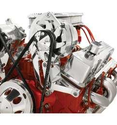 alt bracket sbc driver side hi mount [ 900 x 900 Pixel ]