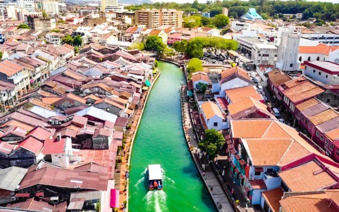 Bitcoin city Melaka Straits City inMalaysia