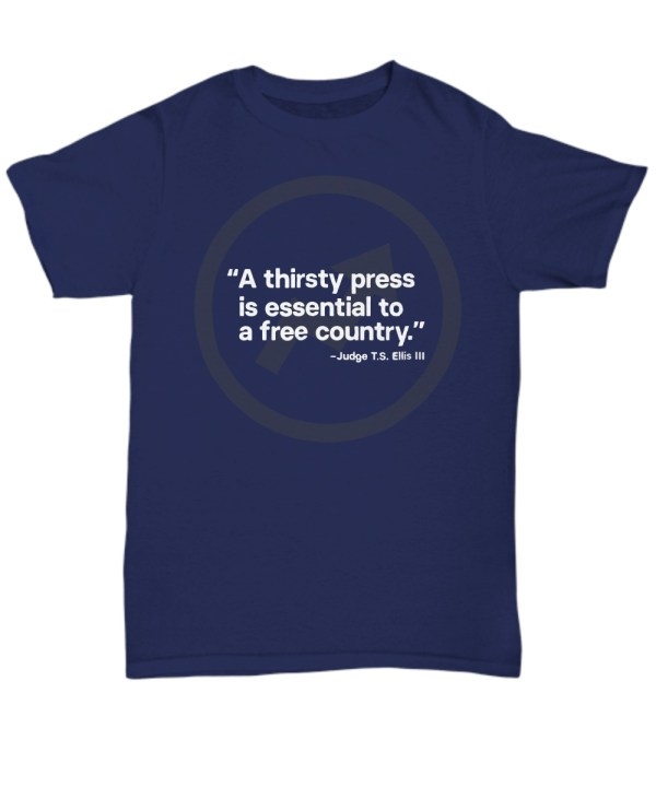 A thirsty press is essentials for free country Shirt