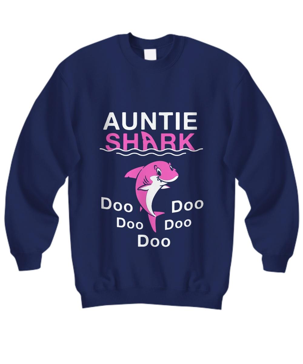 Auntie shark doo doo doo Sweatshirt