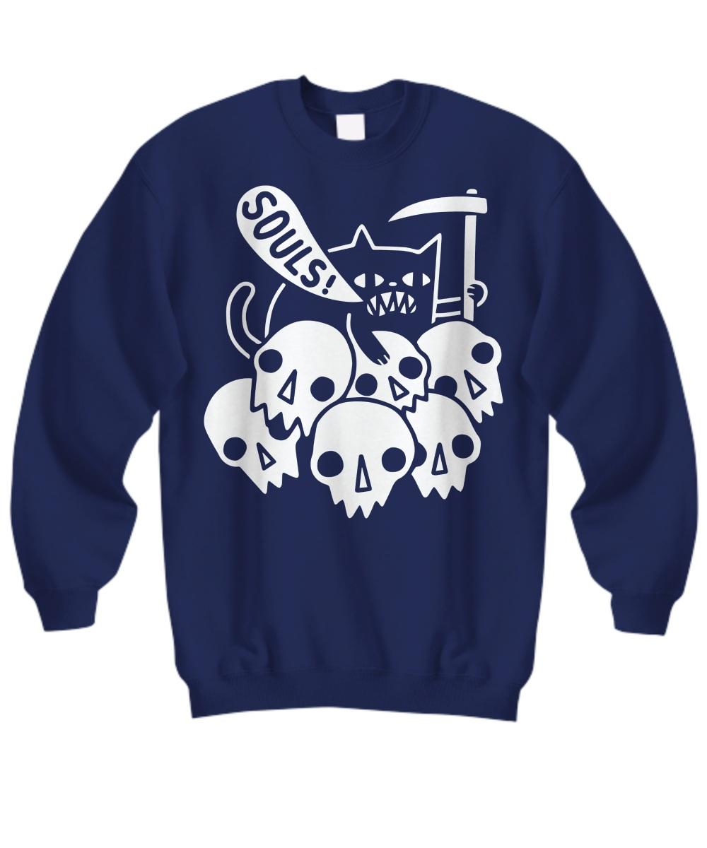 Cat got your soul sweatshirt