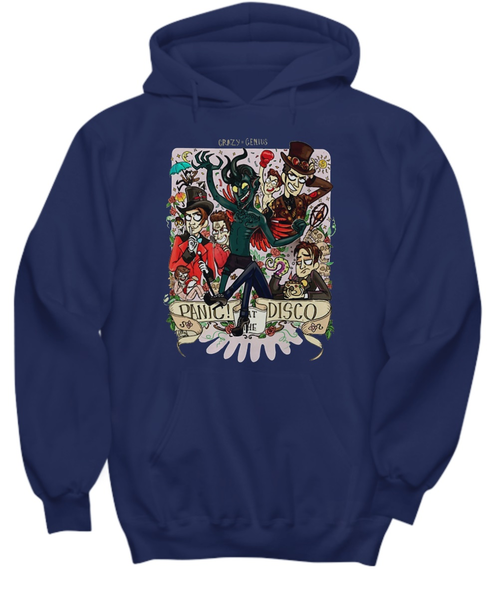 Demon panic at the disco hoodie