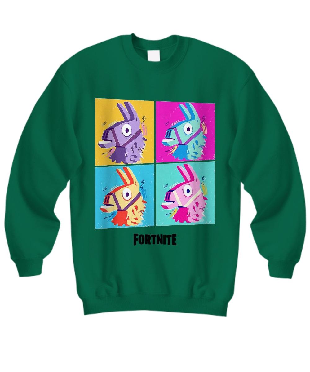 Fortnite Four Llamas sweatshirt