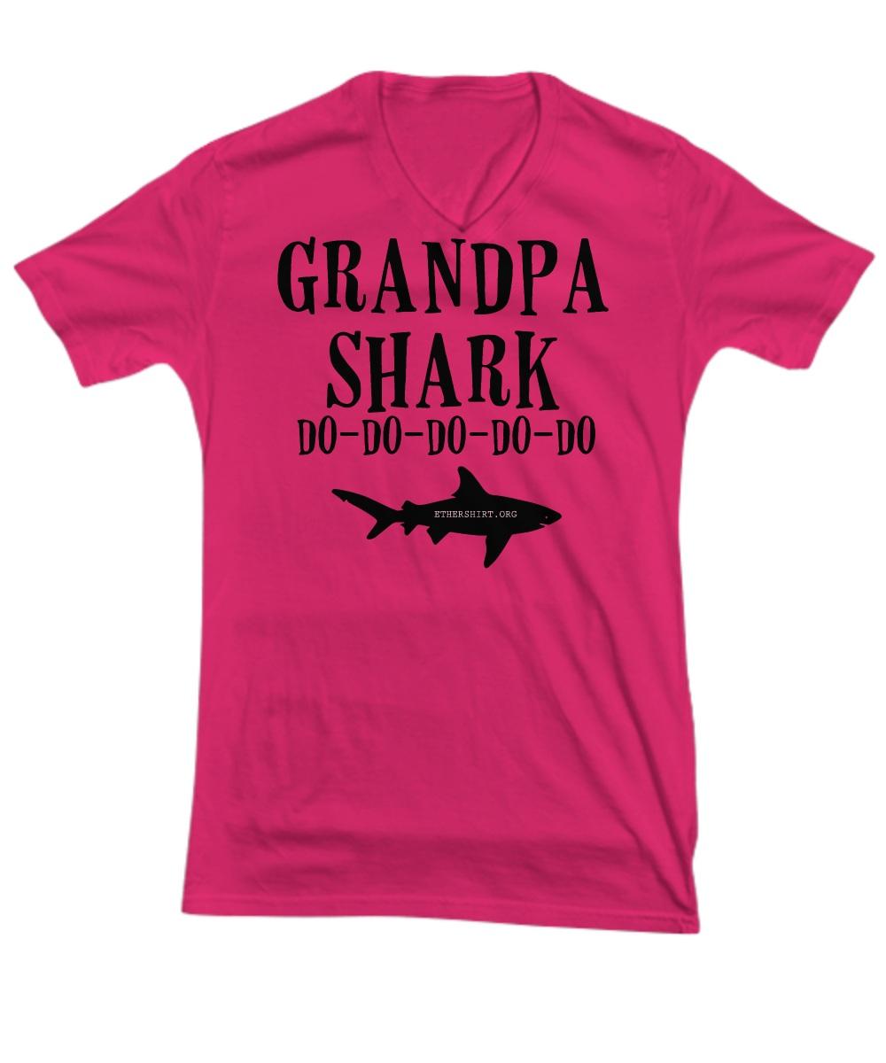 Grandpa shart do do do V-Neck