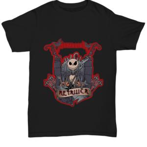 Metallica skeleton band halloween Shirt