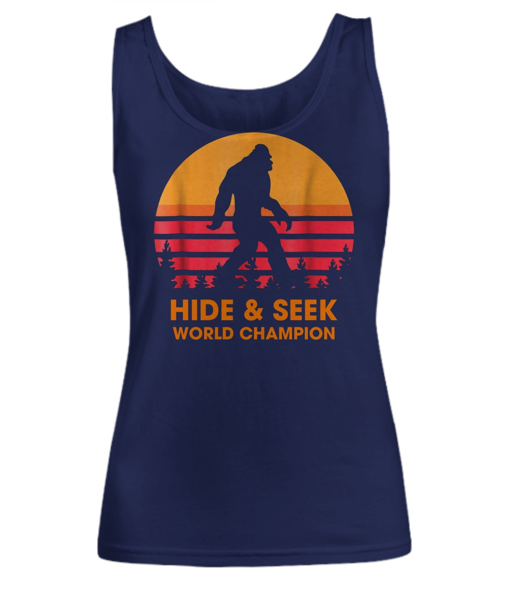 Monster hide & seek world champion Tank top