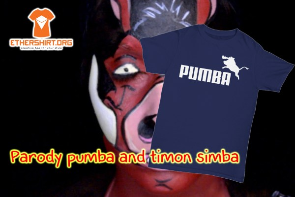 Parody pumba and timon simba shirt