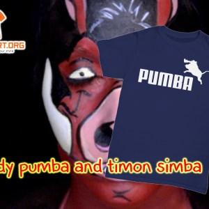 Parody pumba and timon simba shirt