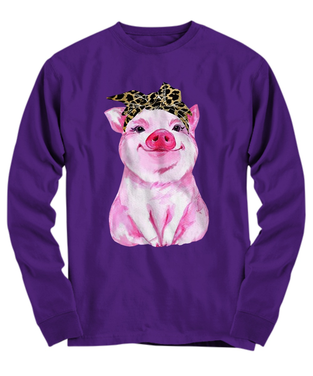 Pig bow ladies Long sleeve