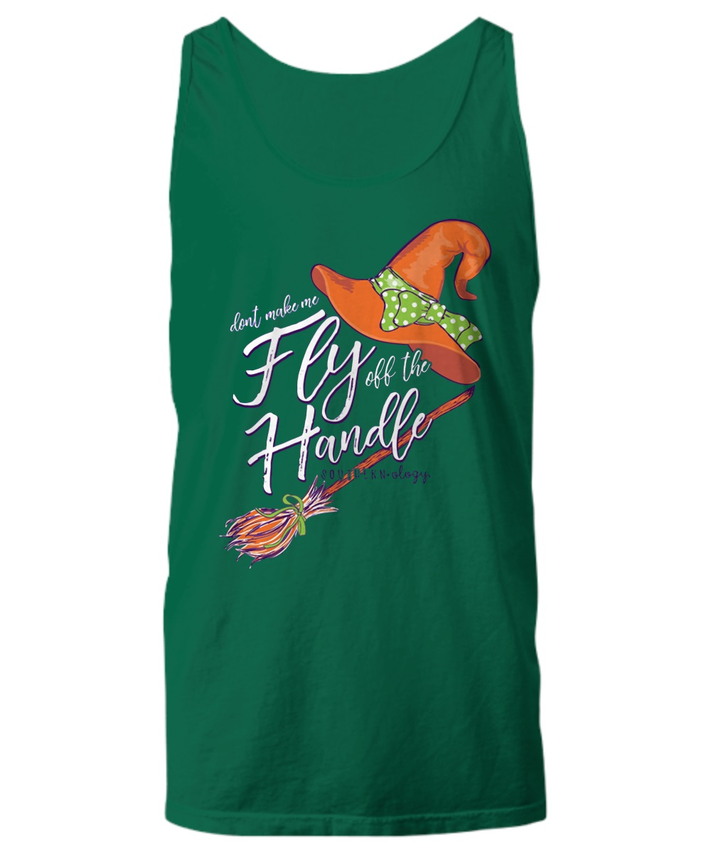 Don't make me fly off the handle tank top