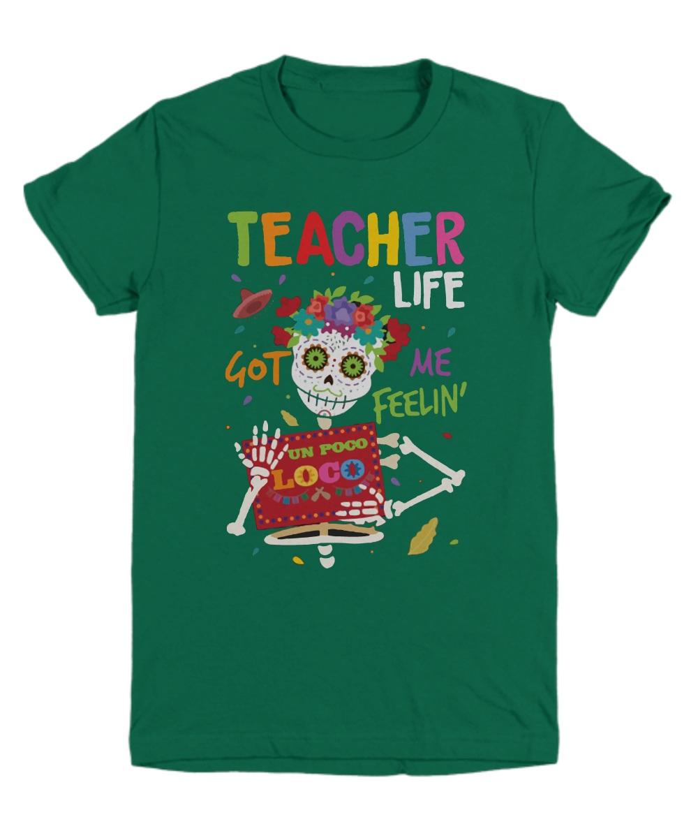 Skeleton teacher life got me feeling un poco loco Youth