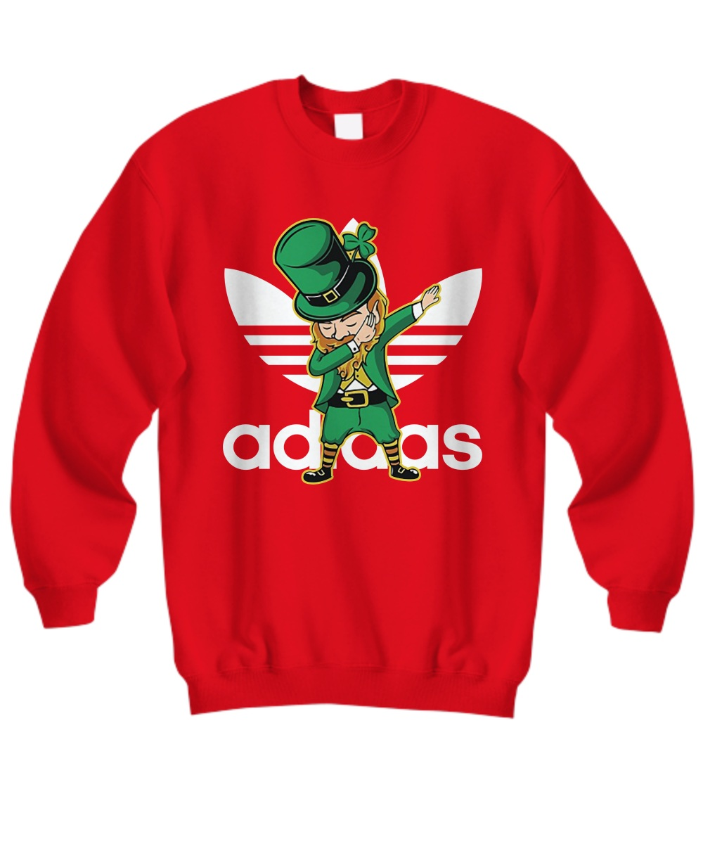 Adidas Leprechaun Dabbing Sweatshirt