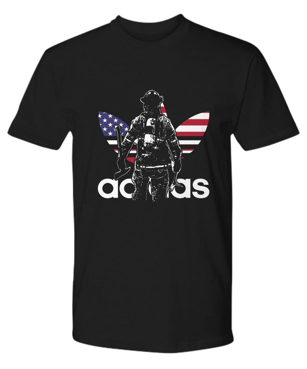 Adidas firefighter classic shirt