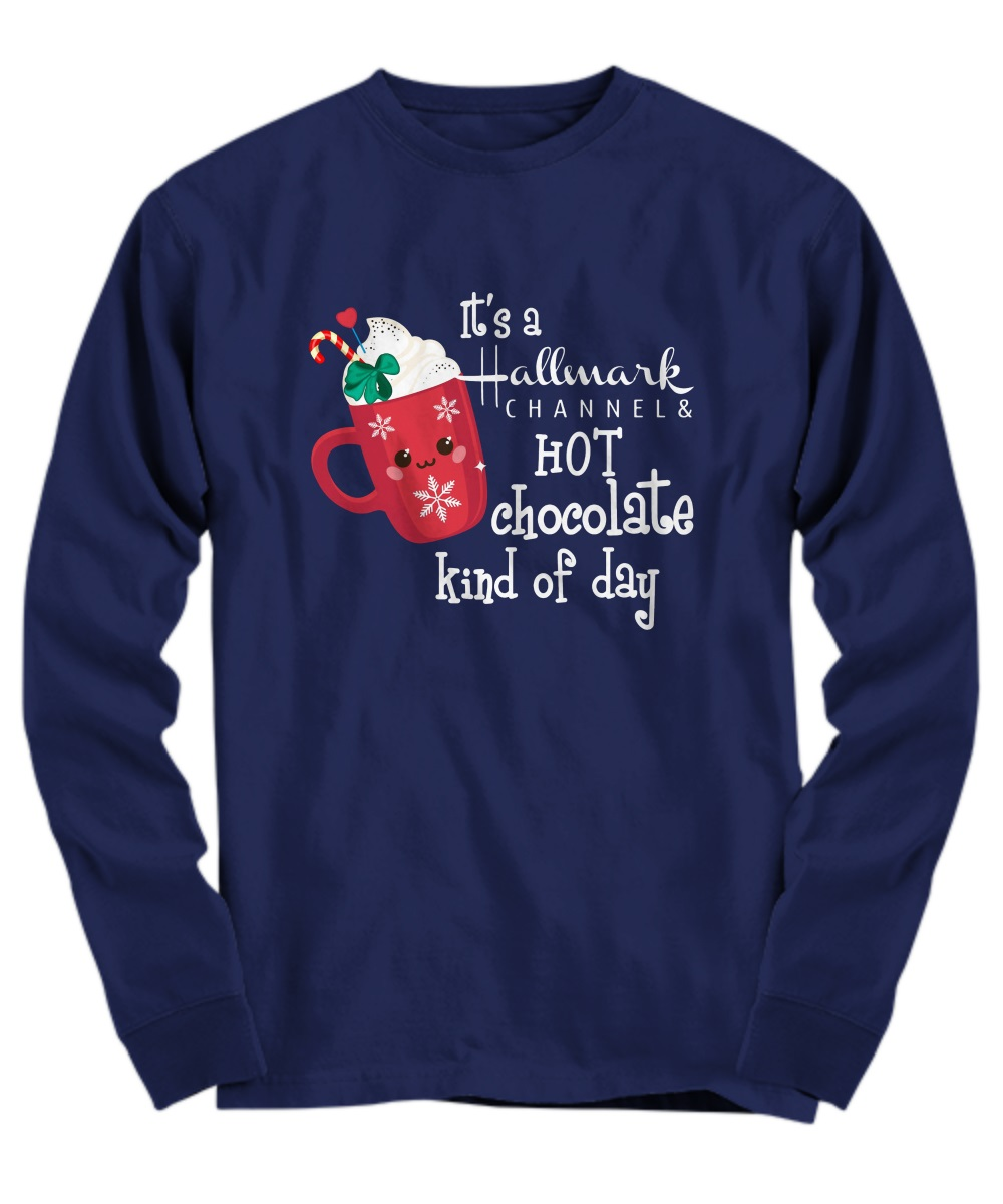 It's a Hallmark channel and hot chocolate kind of day long sleeve