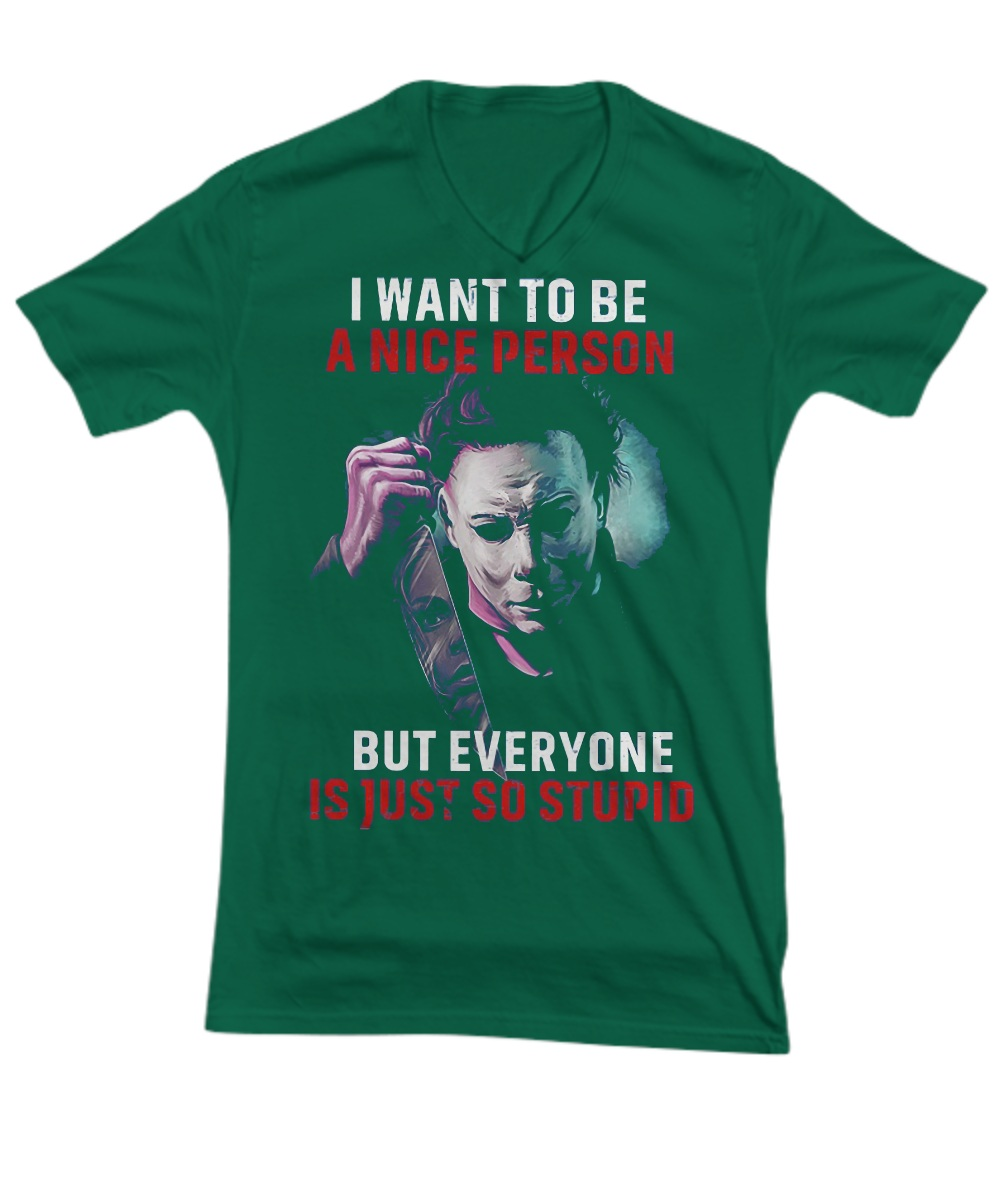 Joker I want to be a nice person but everyone is just so stupid V- Neck