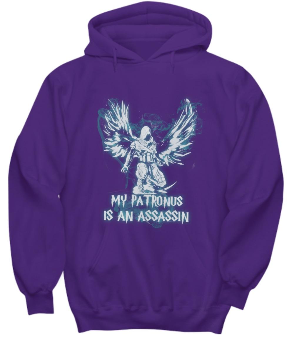 My patronus is an assassin hoodie