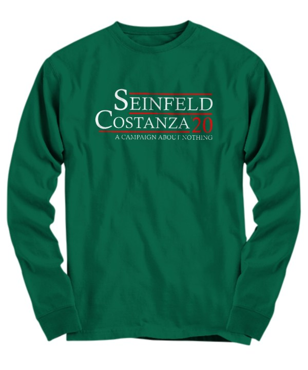 Seinfeld costanza 20 a campaign about nothing shirt