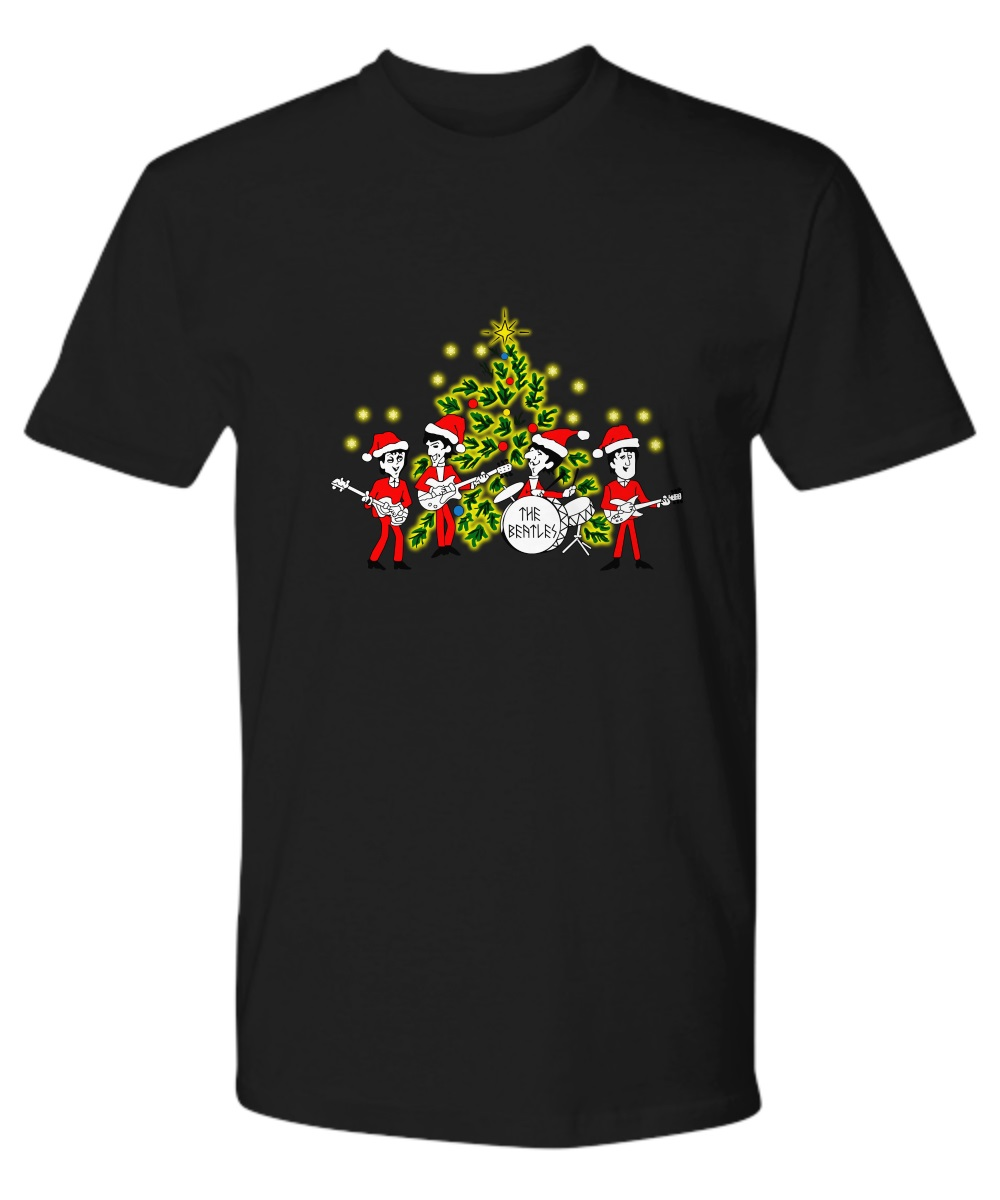 The beatles Singing Christmas Tree classic shirt