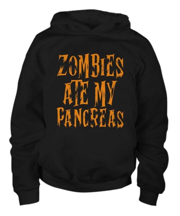 Zombie ate my pancreas Hoodie