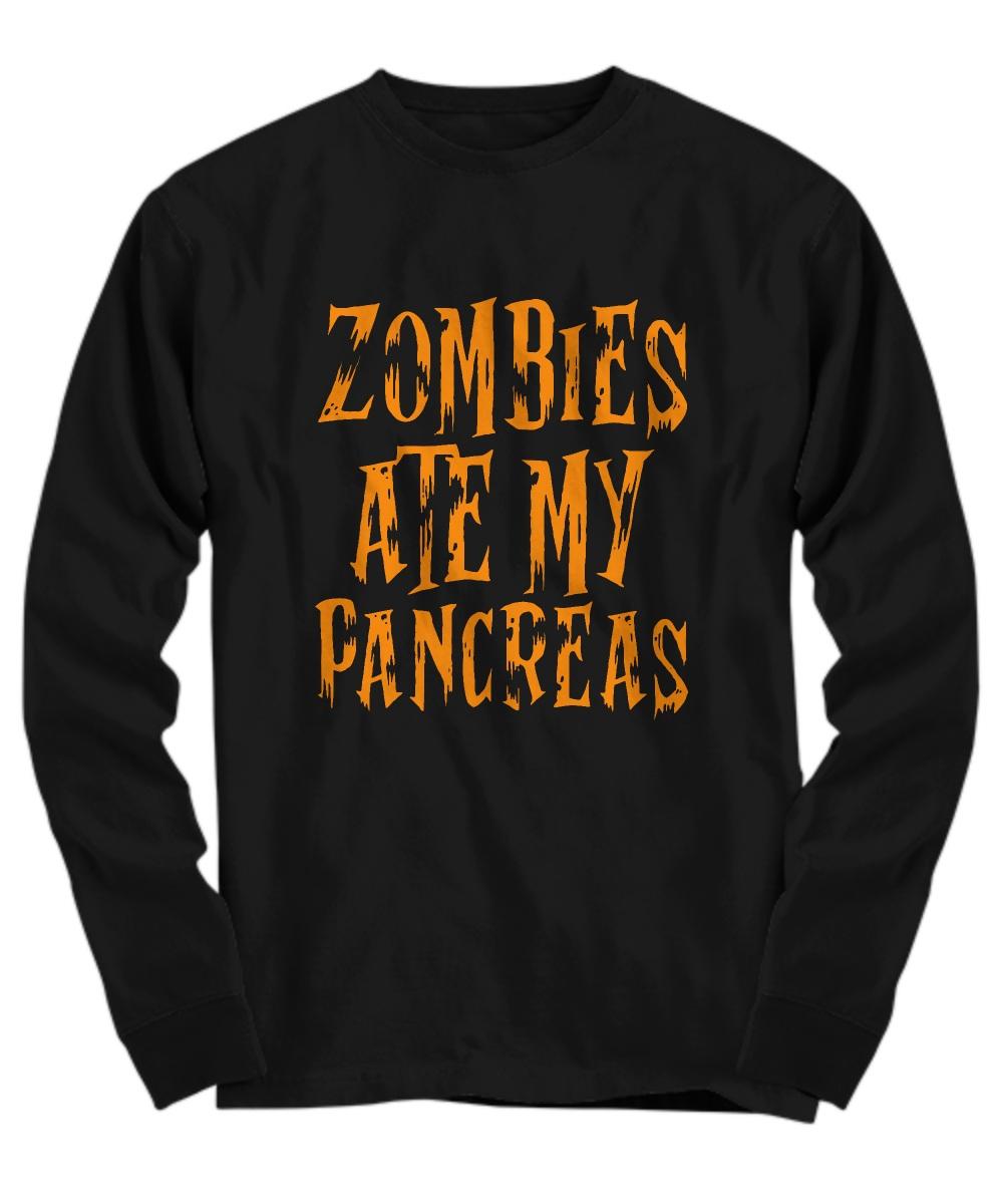 Zombie ate my pancreas Long sleeve