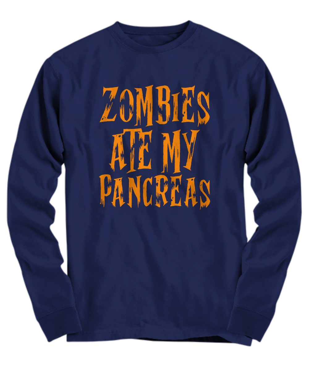 Zombies ate my pancreas long sleeve