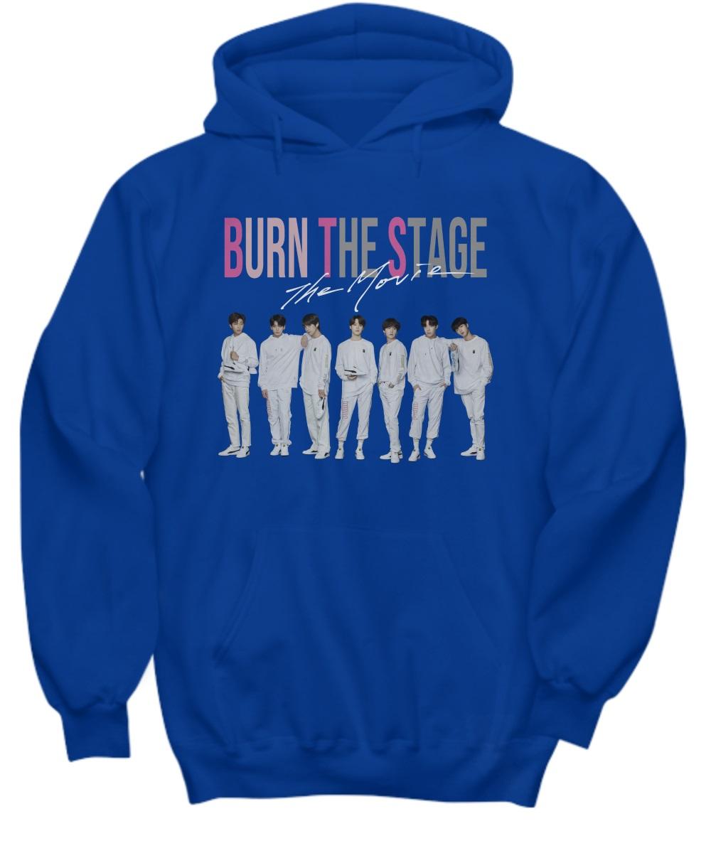 BTS burn the stage the movie hoodie