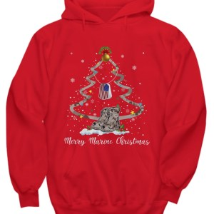 Boot merry marine Christmas long sleeve