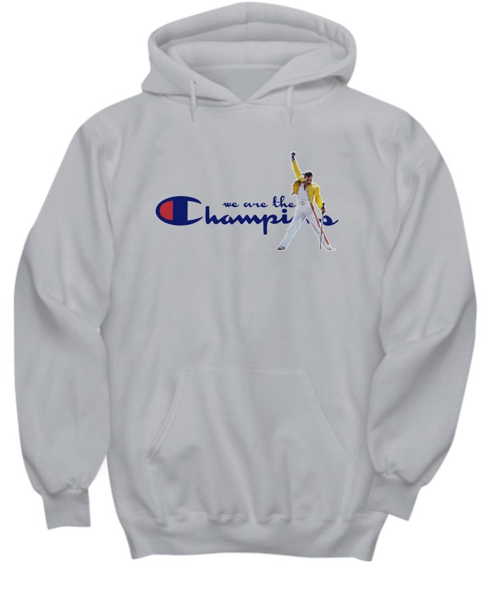 Freddie Mercury we are the champions hoodie