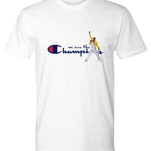 Freddie Mercury we are the champions shirt