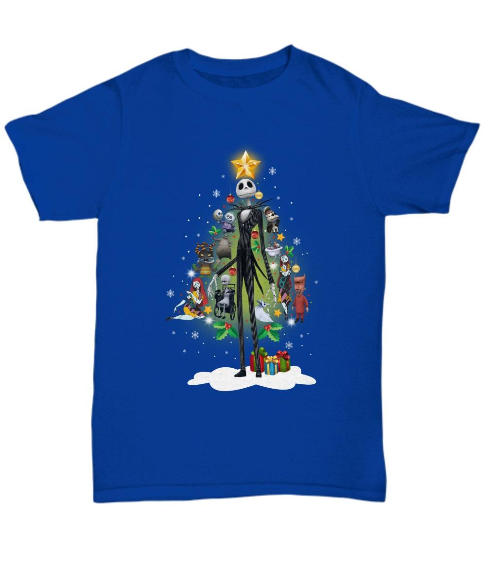 Jack Skellington and friends Christmas tree classic shirt