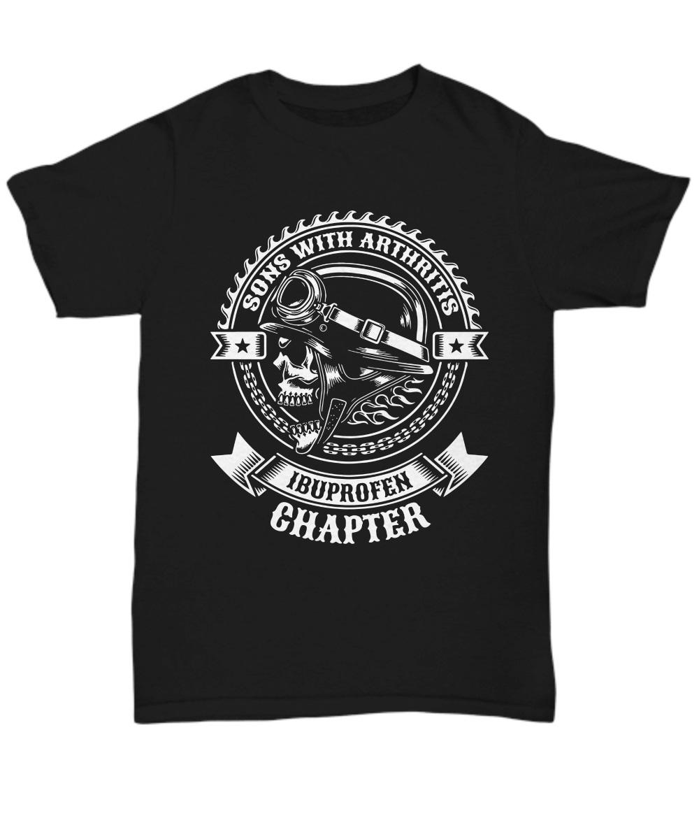 Sons of arthritis ibuprofen chapter classic shirt