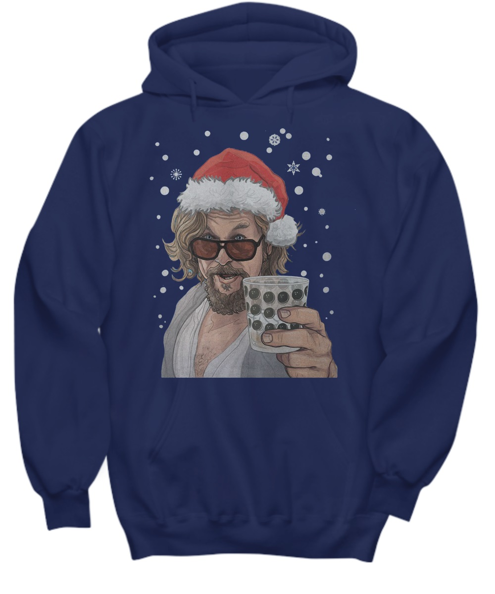 The Big Lebowski Dude Christmas hoodie