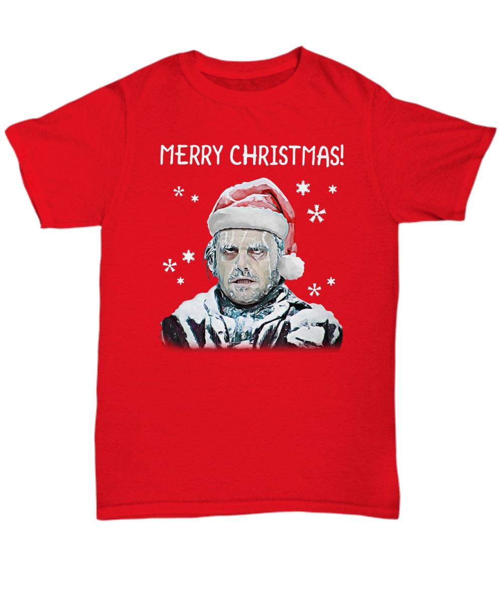 The Shining alternative ending Merry Christmas classic shirt