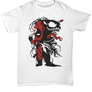 Venom and Deadpool shirt