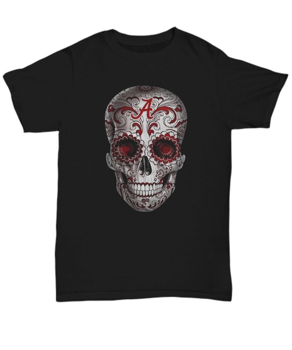 Alabama Crimson Tide Sugar Skull shirt