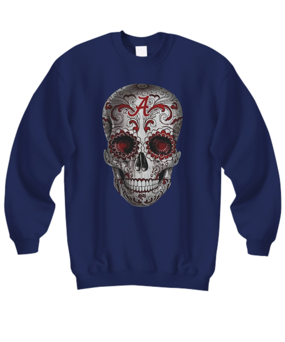 Alabama Crimson Tide Sugar Skull sweatshirt
