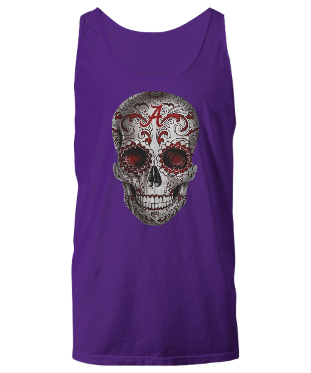 Alabama Crimson Tide Sugar Skull tank top