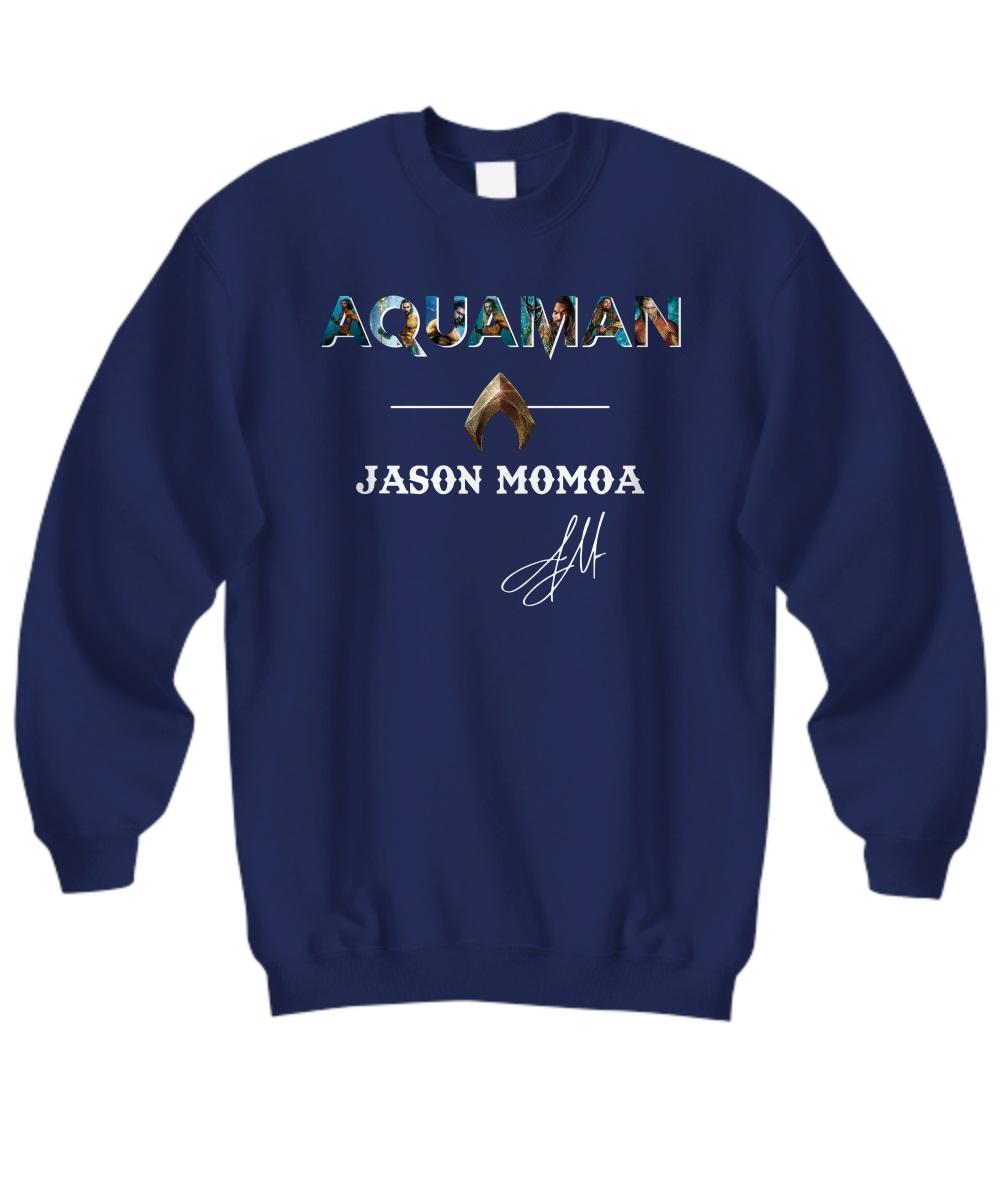 Aquaman Jason Momoa signature sweashirt