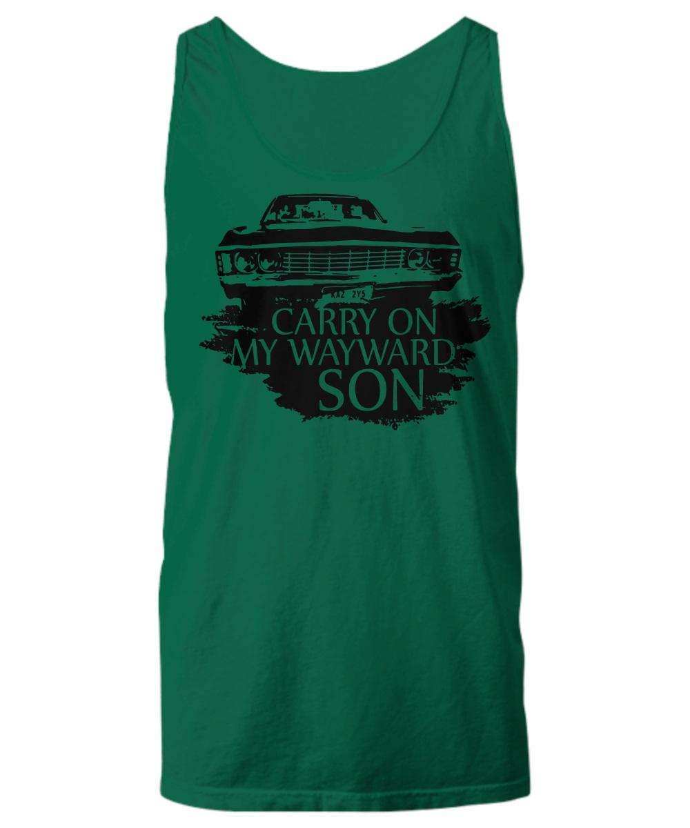 Carry on my wayward son tank top