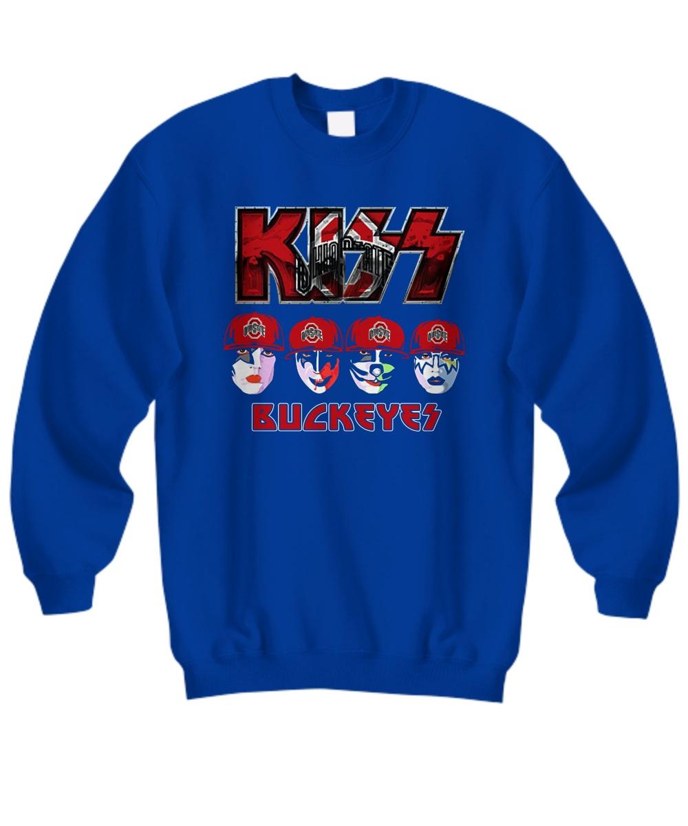Kiss Buckeyes Ohio State Buckeyes sweatshirt