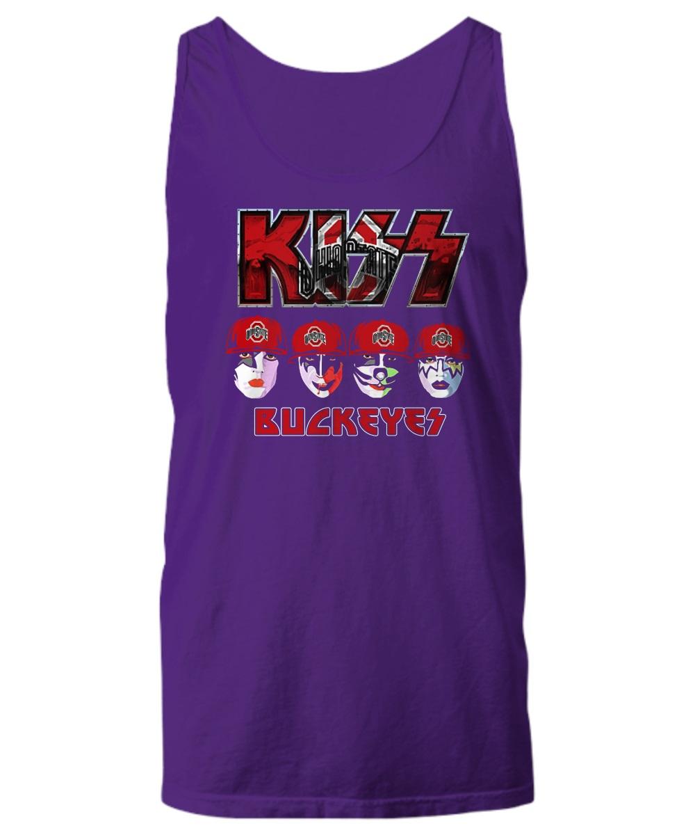 Kiss Buckeyes Ohio State Buckeyes tank top